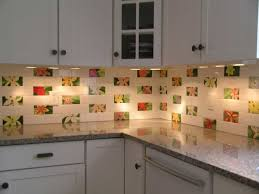 kitchen classy sea glass tile backsplash wavy white backsplash