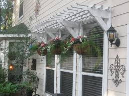 Window Awning Kits 25 Inspiring Outdoor Window Treatments Wooden Pergola Window