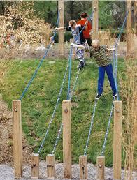Natural Playground Ideas Backyard Downhill Slack Lines Party Ideas Pinterest Playground