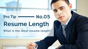 Best Resume Length ideal resume length free resume example and writing download