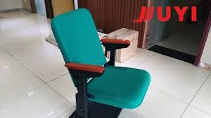 Cheap Theater Chairs Jy 308 Chinese Sale Commerical Fabric Folding Cheap Theater