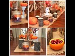 Table Centerpieces For Thanksgiving Diy Thanksgiving Table Decorating Ideas Youtube