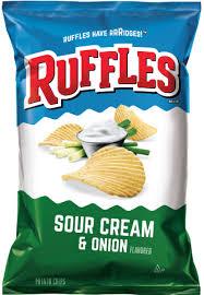 Ripple Chips Ruffles Original Potato Chips