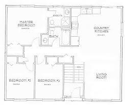 3 bedroom bungalow floor plans open concept memsaheb net