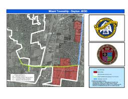 Austin Zoning Map by Joint Economic Development Districts Miami Township Oh