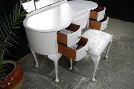 french style dressing table cheap vintage french style walnut dressing table with stool painted