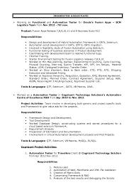 Qa Automation Engineer Resume Rajakarthik Resume Qa Automation
