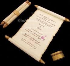 scroll wedding invitations wedding scroll boxes ebay