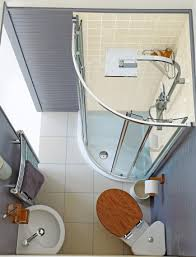 decorating very small bathrooms with all in one concept in