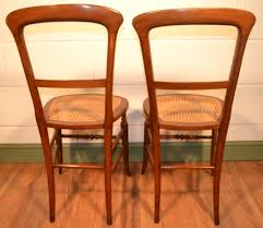 Edwardian Bedroom Furniture by Pair Edwardian Mahogany Cane Seat Bedroom Chairs C 1900 270644