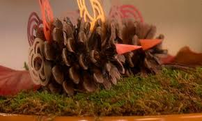 thing pinecone turkey thanksgiving decorations