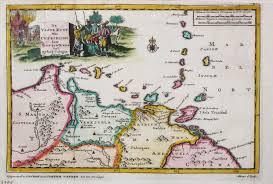 Map Curacao Antiquemaps Fair Map View Aa V D Antique Map Aruba Curacao