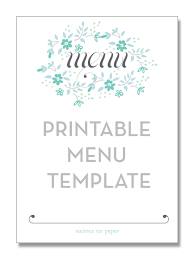 editable menu templates menu template free resumess franklinfire co