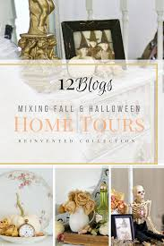 beautiful ways to blend fall and halloween decor 12 blog home tours