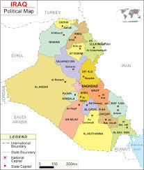 map of irak maps of iraq bizbilla