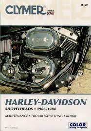 harley davidson shovelhead fl fx service manual 1966 1984 clymer