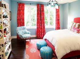 Red And Light Blue Bedroom Bedroom Colors Blue And Red
