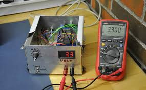High Voltage Bench Power Supply - simple adjustable power supply ec projects com