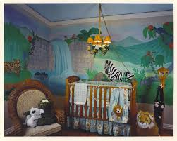 jungle baby room theme