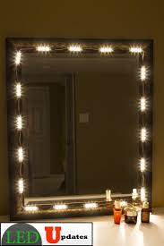 amazon com make up mirror led light warm white color with dimmer