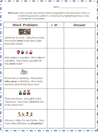 word problem addition and subtraction addition problems to 20 claudiubita