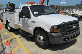 Ford F350 Service Truck - 2006 ford f350 super duty xl service truck item h8923 so