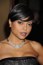 short hairstyles for black women with round faces popular long