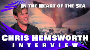 chris hemsworth interview in the heart of the sea youtube