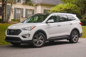 nissan pathfinder vs hyundai santa fe review hyundai santa fe limited the truth about cars