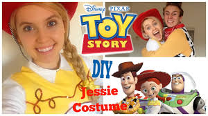 toy story halloween diy disney toy story jessie costume easy and affordable youtube