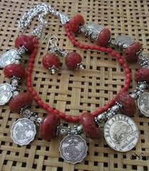 Buy Alankruthi Pearl Necklace Set Buy Alankruthi Pearl Necklace Set 2 Online