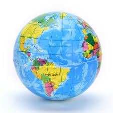 World Geography Map Online Buy Wholesale Globe Bouncing Ball From China Globe Bouncing