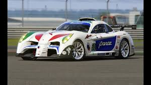 panoz panoz abruzzi top gear at silverstone youtube