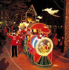 parade of lights branson mo the gifts of christmas holiday light parade at silver dollar city