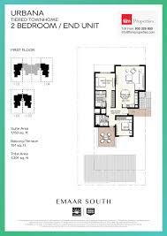 Floor Plan Of Burj Khalifa by Floor Plans Urbana Emaar South By Emaar
