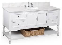 60 Inch White Vanity 72 Inch White Finish Single Sink Bathroom Vanity Cabinet With