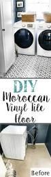 diy moroccan vinyl tile floor bless u0027er house