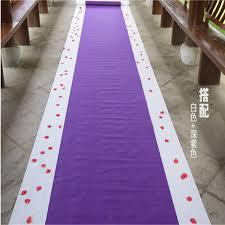 white wedding runner carpet wed direct