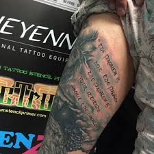 thigh quotes tattoos browse worlds largest tattoo image gallery trueartists com