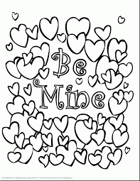 magnificent valentine heart coloring pages with valentines day
