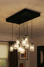 Kitchen Island Light Fixture by Best 10 Jar Lights Ideas On Pinterest Diy Mason Jar Lights