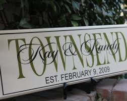 important date custom wood brilliant custom signs for home decor