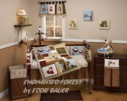 enchanted forest friends nursery ideas with baby deer owls
