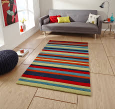 hong kong hand tufted large modern rug striped design acrylic home