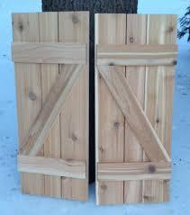 Cedar Barn Door Available Z Shaped Shutter Board And Batten Cedar Barn