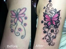 butterfly coverup touch up cover up ideas