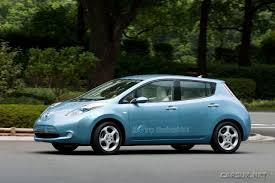 nissan leaf xm radio trial alternative fuel the green mileage