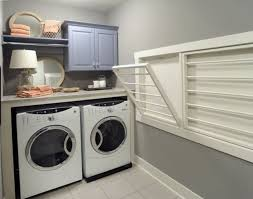 Laundry Room Laundry Drying Racks Wall Mounted Images Design