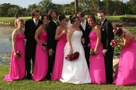 Pink Bridesmaid Dresses Light Pink And Black Bridesmaid Dresses