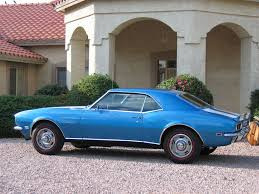 blue 68 camaro lemans blue 67 68 with redline tires anyone a picture team